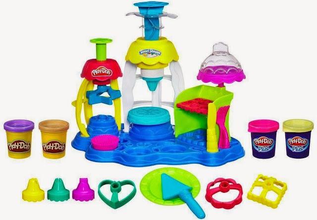Tiệm bánh vui vẻ Play-Doh Frosting Fun Bakery là món đồ chơi bột nặn rất thú vị