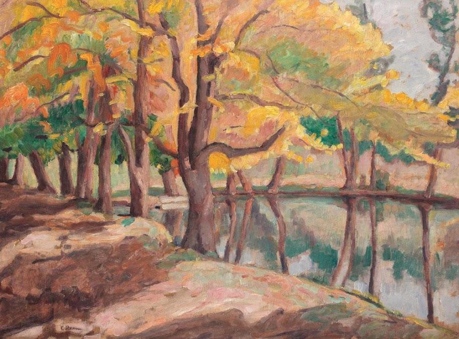 Camil Ressu - Pe malul lacului