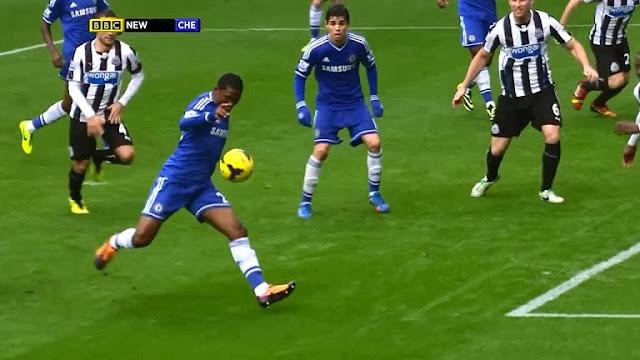 Eto, Newcastle - Chelsea