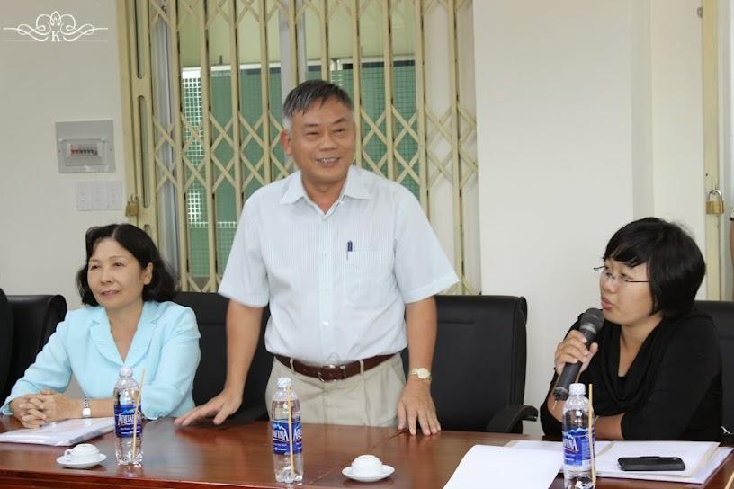 Thầy Phó hiệu trưởng Đặng Chính Nghĩa