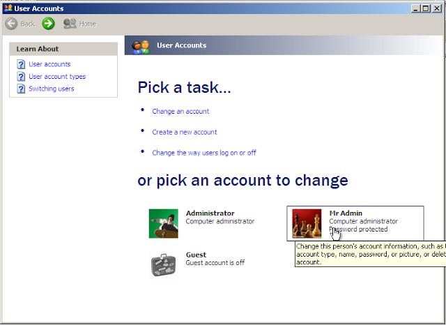 Cách xóa bỏ mật khẩu Windows XP khi quên đơn giản 5