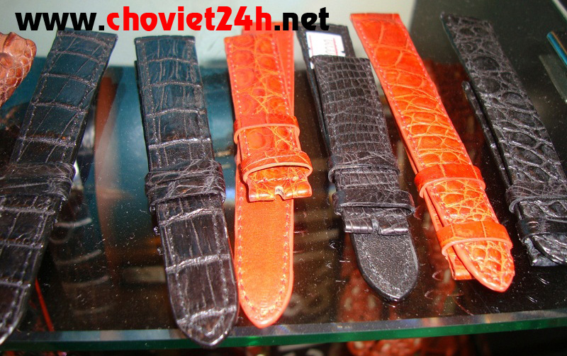 Dây đồng hồ da cá sấu giá rẻ nhất