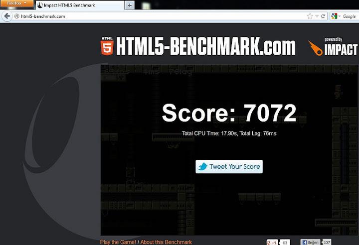 firefox html5 benchmark