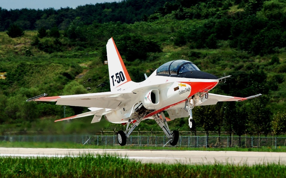 T-50 Golden Eagle Jet Trainer Wallpaper 3