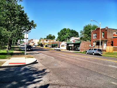 stlouis, street, cars, wide, trees, gravois