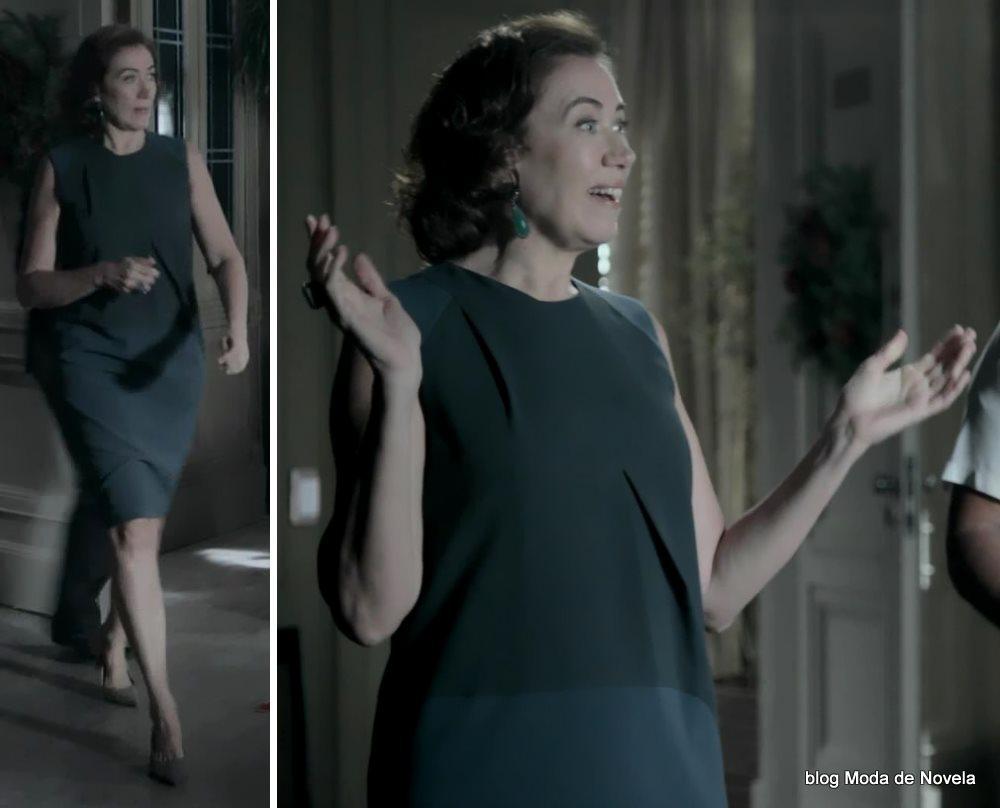 moda da novela Império, look da Maria Marta dia 7 de janeiro de 2015