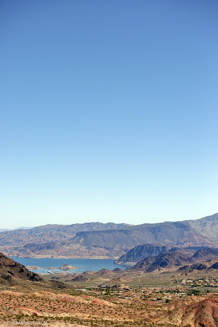 View of Lake Mead During our Boulder City Zip Line.