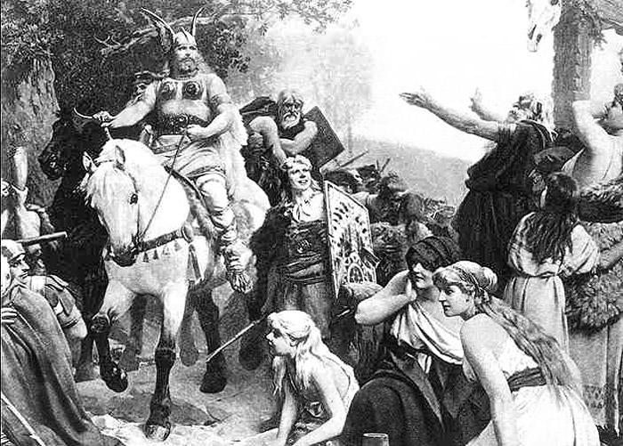 Die Hermannsschlacht or Hermann's Battle (1808) by Heinrich von Kleist
