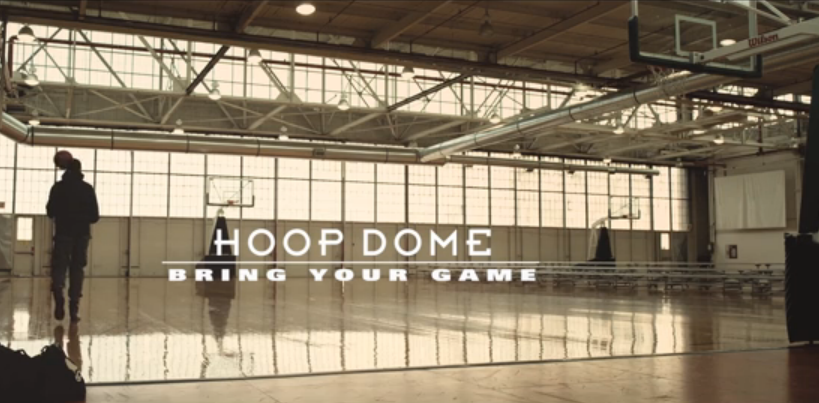 """Bring Your Game"" — Hoop Dome"