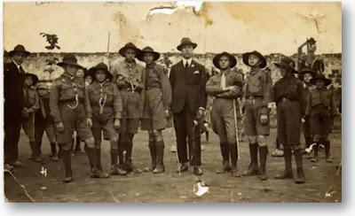1923 - Gli inizi del gruppo Scout a San Giovanni.