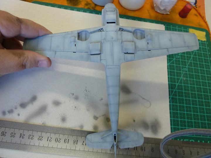 Bf-109 E-3 Tamiya 1/48 - Reforma pintura P1020472