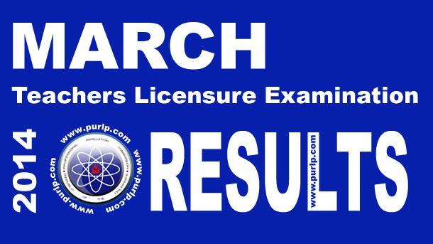 LET Board Exam JAN. 2014 Results Full List