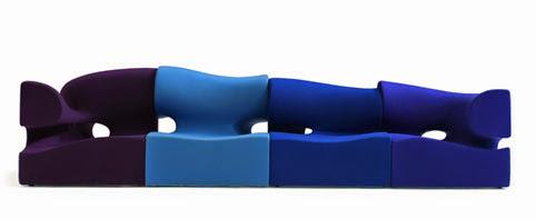Sofá de Ron Arad para Moroso