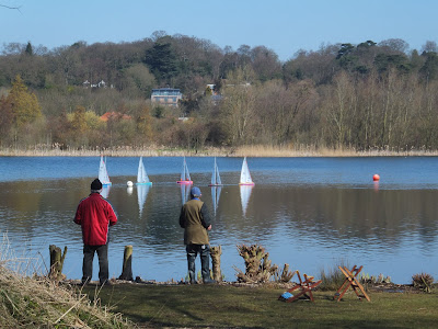 Norwich Model Yacht Club at Whitlingham Great Broad