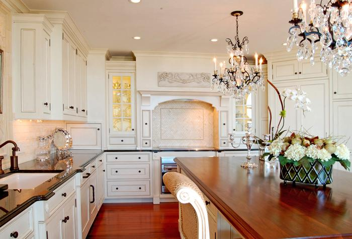 the crowning touch in the kitchen.range hoods! - the enchanted home