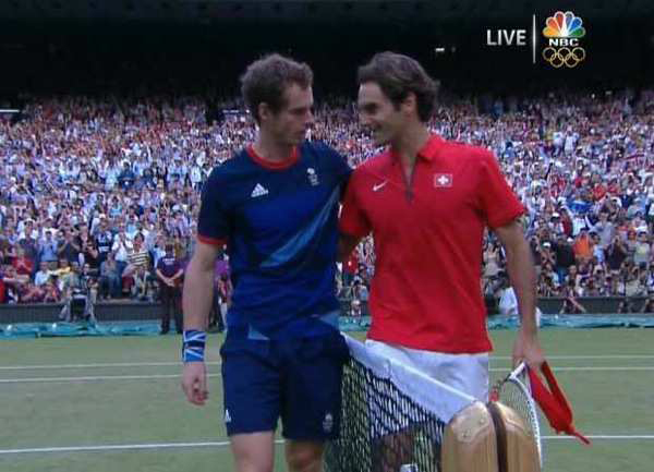 Andy Murray Wins Gold – Tennis Mens Singles – London 2012 Olympics, Olympic Games