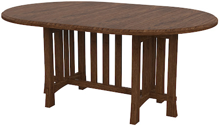 Seville Round Conference Table in Cocoa Cherry