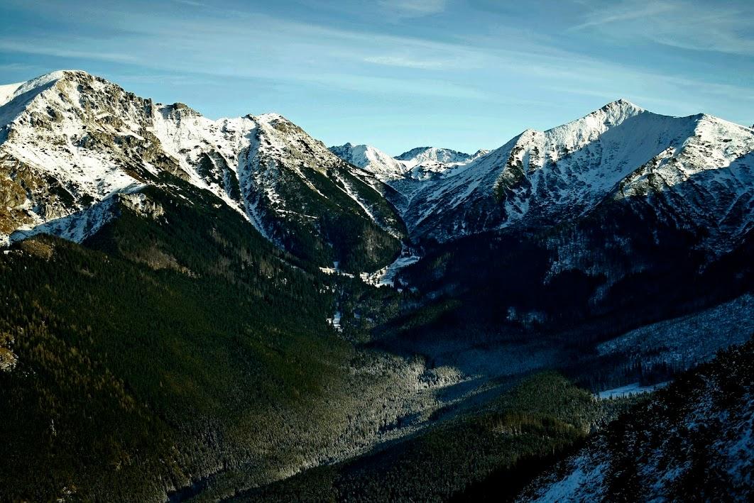 Dolina Tomanowa i Tomanowa Przełęcz