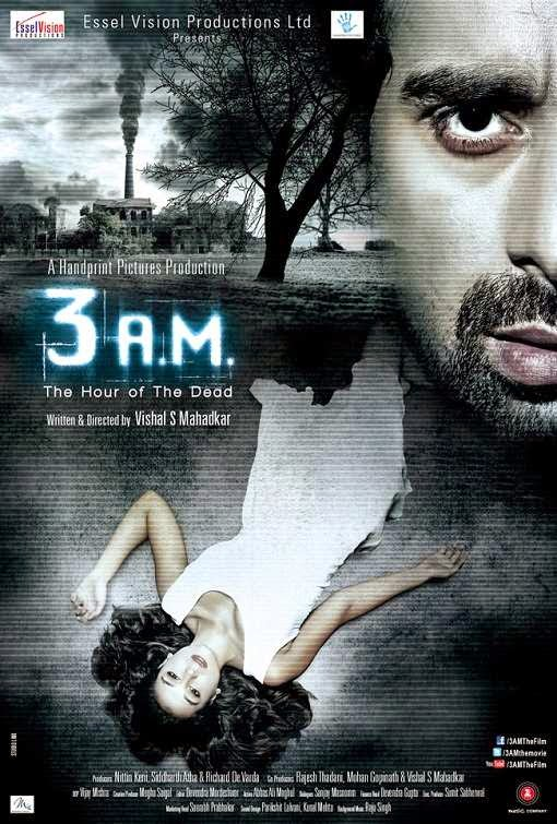 Poster Of Hindi Movie 3 A.M: A Paranormal Experience (2014) Free Download Full New Hindi Movie Watch Online At Alldownloads4u.Com