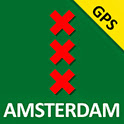 Amsterdam The Map GPS App voor Android, iPhone en iPad