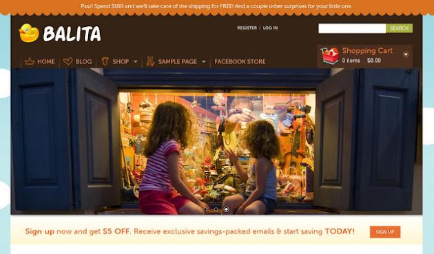 Baltia E Commerce WordPress Theme