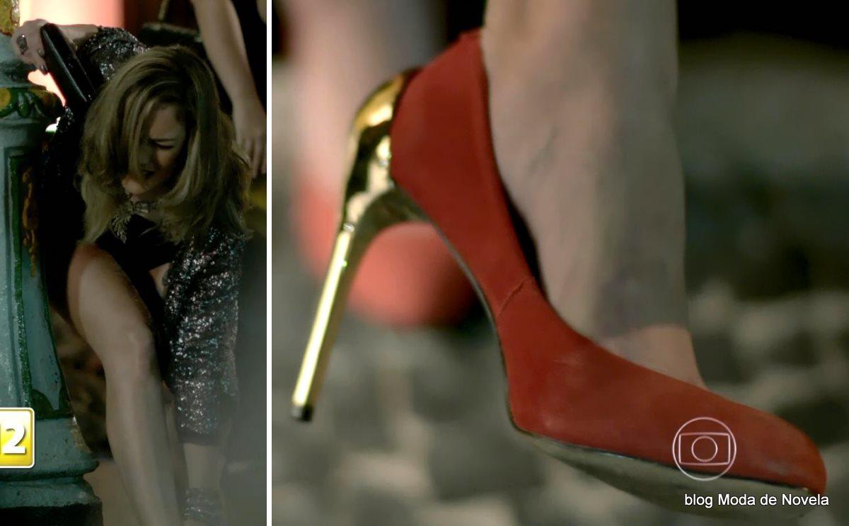 moda da novela Império, sapato da Amanda