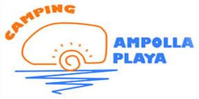 Logo Camping Ampolla Playa