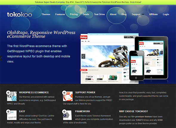tokokoo premium wordpress ecommerce themes