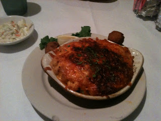 Crawfish Au Gratin