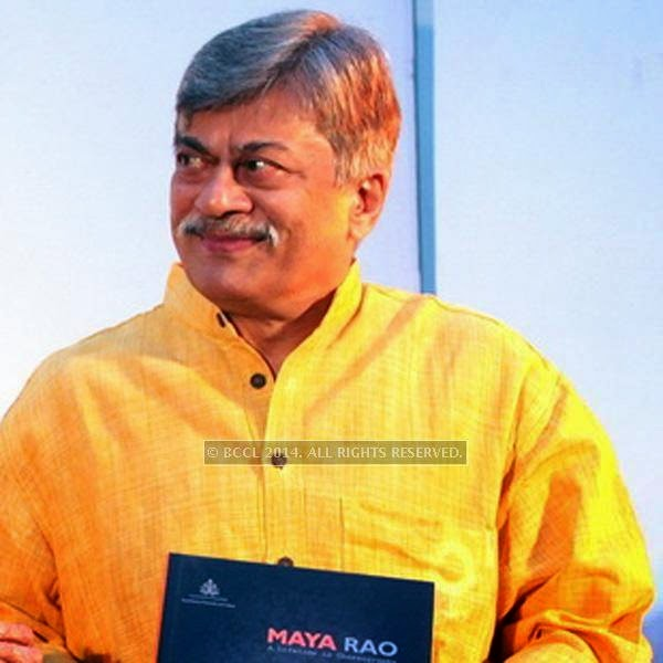 Ananth Nag attends the book launch of Maya Rao's autobiography, titled Maya Rao - A Lifetime in Choreography at ITC Windsor, Bangalore.
