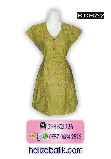 grosir batik pekalongan, Dress Batik Terbaru, Dress Modern, Busana Batik Wanita