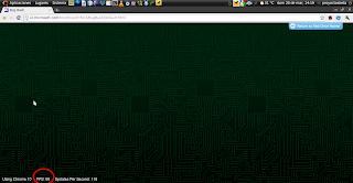 Imagen de un ejemplo con activación de la aceleración gráfica en Google Chrome