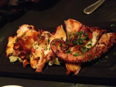 Bomba Paella Bar, octopus