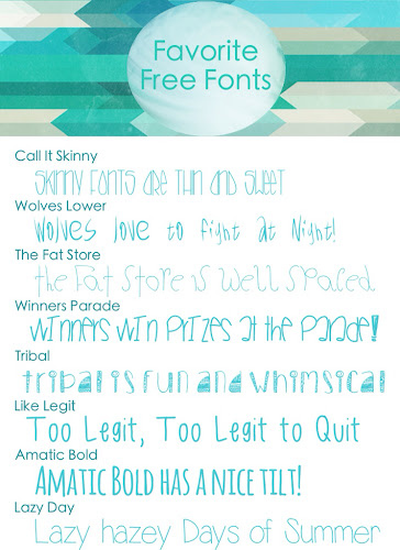 Free Fonts, Favorite Fonts, Font Listing, Typeface
