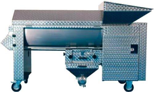 Επαγγελματικός Αποβοστρυχωτήρας-απορογιτήρας-διαχωριστήρας (απορραγιστήριο-αποβοστρυχωτήριο-εκραγιστήριο-θλιπτήριο) Enoitalia τύπου Jolly 100/MV