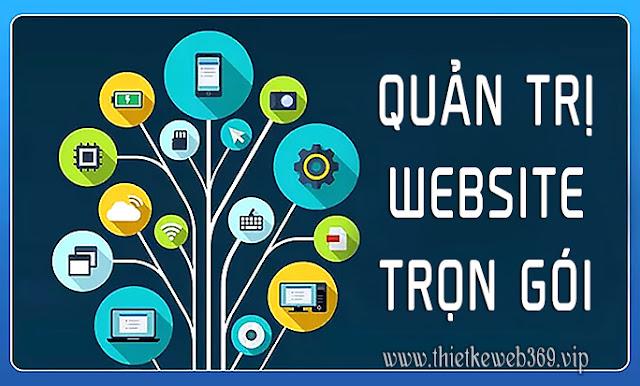 Gói quản trị Website trọn gói