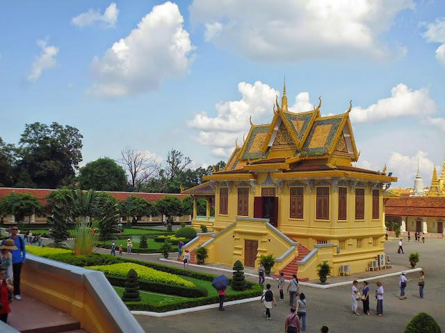 королевский дворец Камбоджи. Пномпень