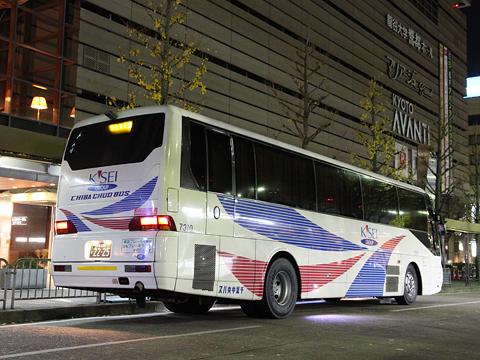 千葉中央バス 千葉京都線 2235 リア