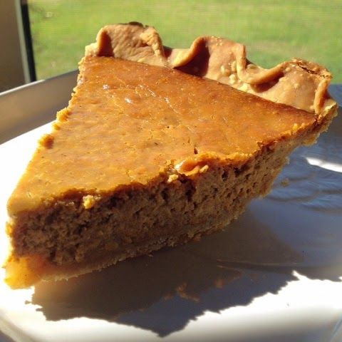 Pumpkin pie is all about the spices, the texture and flavor of pumpkin, and that burnt orange color.  I love pumpkin pie.  I love the simplicity. I love the warm and inviting color.  I love that it embodies seasonal flavors in a not-too-sweet package.