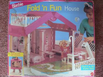 El ba l de mis recuerdos casa malet n de barbie 1992 - Cosas para la casa de barbie ...