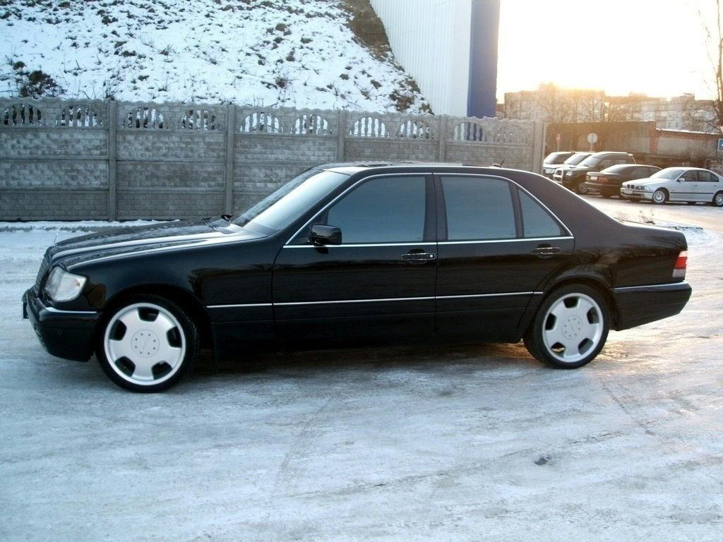 Mercedes-benz w140 s600 w12 - 94c5