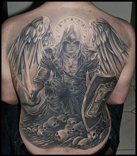 Amazing Angel Tattoos And Designs 2015