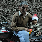 Un grand-père et son petit fils, Delhi