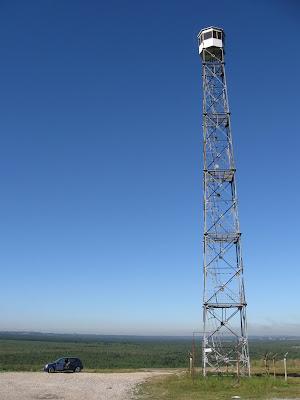 charakterystyczny punkt widokowy w miejscowości Klucze