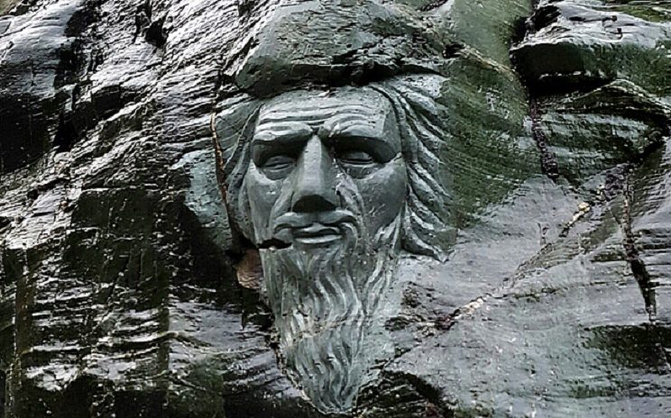 UK: Merlin sculpture at Tintagel Castle causes outrage