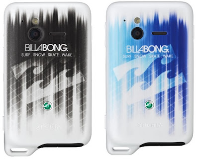 gambar se xperia active edisi billabong, kelebihan dan keunggulan xperia active billabong, hp se billabong