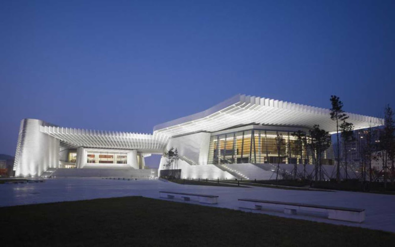 gmp Architekten: QINGDAO GRAND THEATER by GMP ARCHITEKTEN