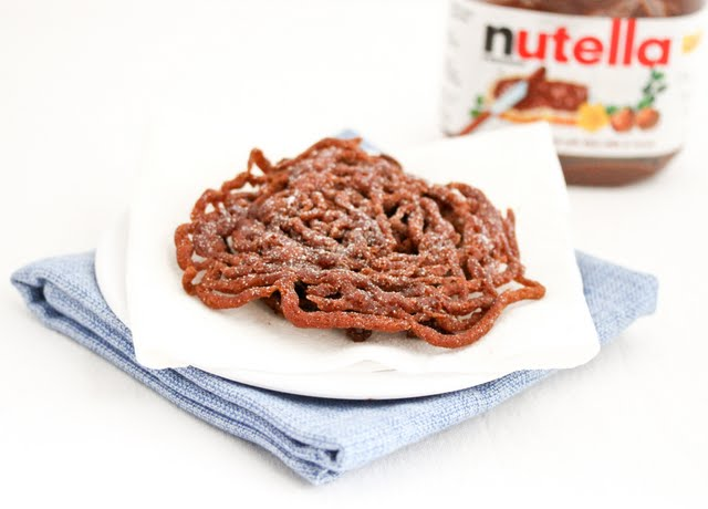 Nutella Funnel Cake