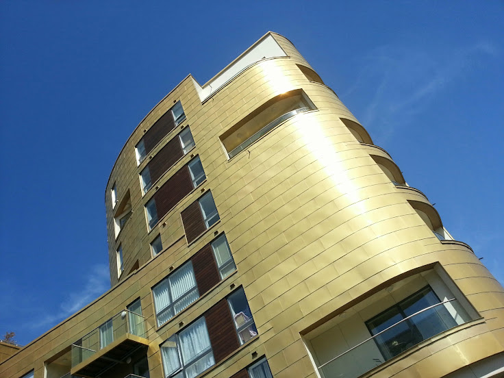 A Golden Building- What were they thinking? By Josephine Lucas