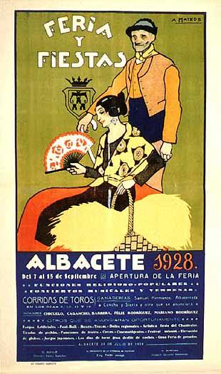 Cartel Feria Albacete 1928